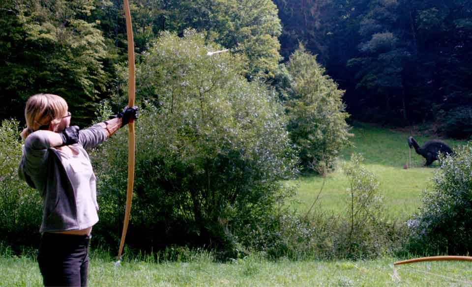 Bogenschießen in der Eifel